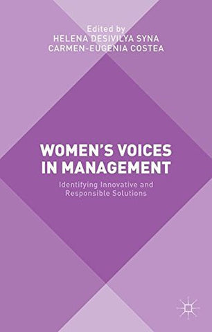 Women's Voices in Management: Identifying Innovative and Responsible Solutions