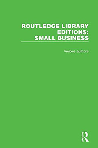 Routledge Library Editions: Small Business