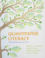Quantitative Literacy 2e C & LaunchPad for Crauder's Quantitative Literacy 2e (Twelve Month Access)