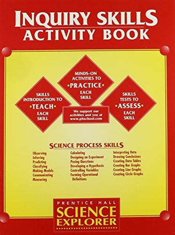 Science Explorer: Inquiry Skills- Activity Book