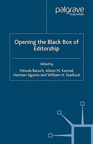 Opening the Black Box of Editorship