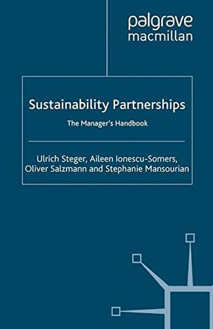Sustainability Partnerships: The Manager's Handbook
