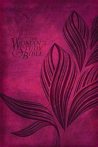 NKJV, The Woman's Study Bible, Personal Size, Imitation Leather, Red (Signature)