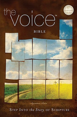 The Voice Bible, Personal Size, Paperback, Multicolor: Step Into the Story of Scripture