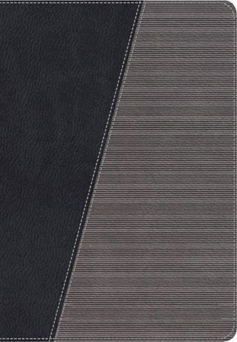 NKJV, The Modern Life Study Bible, Imitation Leather, Black/Gray: God's Word for Our World