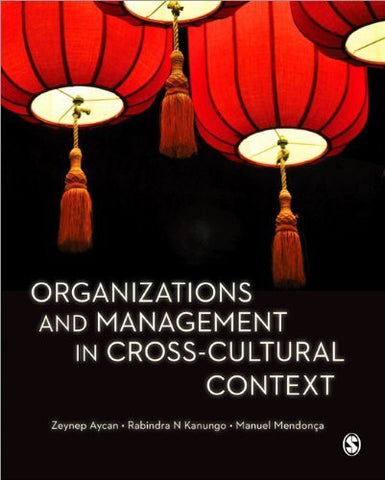 Organizations and Management in Cross-Cultural Context