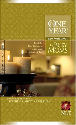The One Year New Testament for Busy Moms NLT