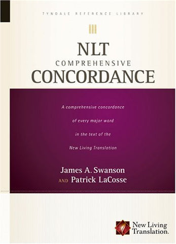 NLT Comprehensive Concordance (Tyndale Reference Library)