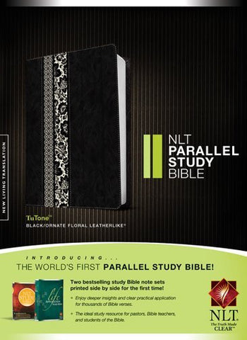 NLT Parallel Study Bible, Floral TuTone