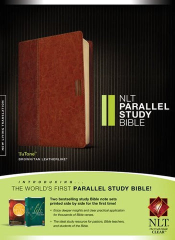 NLT Parallel Study Bible, TuTone