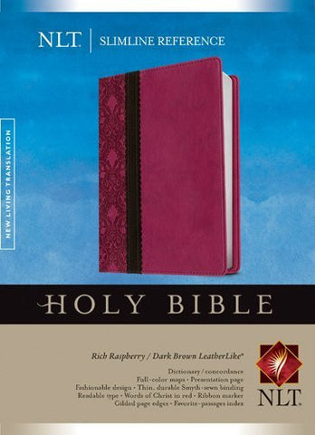 Slimline Reference Bible NLT, TuTone
