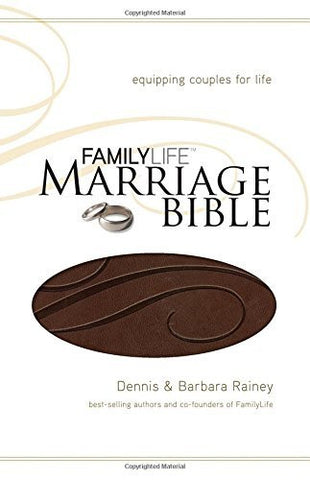 NKJV, FamilyLife Marriage Bible, Imitation Leather, Brown: Equipping Couples for Life