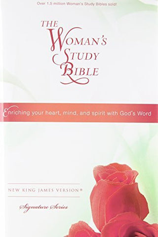 NKJV, The Woman's Study Bible, Personal Size, Hardcover, Multicolor (Signature)