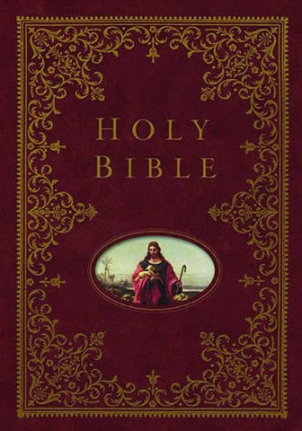 NKJV, Providence Collection Family Bible, Hardcover, Burgundy, Full Color (Signature)