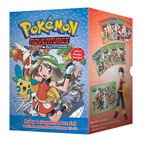 Pok??mon Adventures Ruby & Sapphire Box Set: Includes Volumes 15-22 (Pokemon)