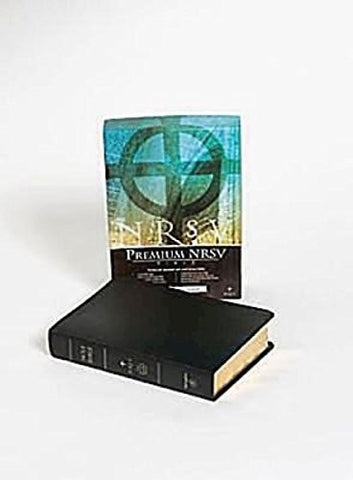 New Revised Standard Version Premium Gift Bible: Black Bonded Leather