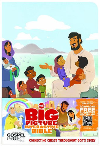 The Big Picture Interactive Bible for Kids, Jesus Edition LeatherTouch: Connecting Christ Throughout God's Story (The Gospel Project)
