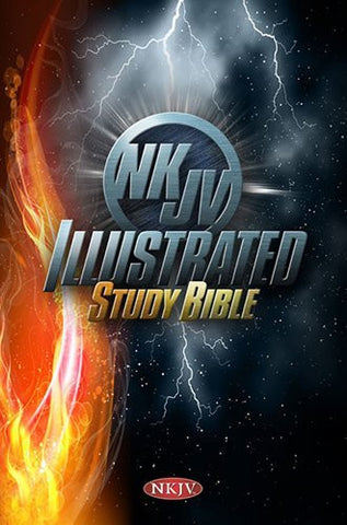 NKJV Illustrated Study Bible for Kids, Cosmos Hardcover