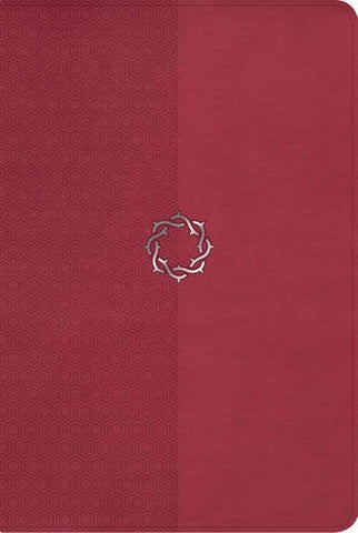 NKJV Essential Teen Study Bible, Rose LeatherTouch