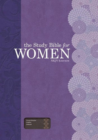 The Study Bible for Women: NKJV Edition, Cocoa Genuine Leather, Indexed