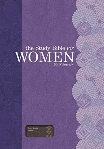 The Study Bible for Women: NKJV Edition, Cocoa Genuine Leather