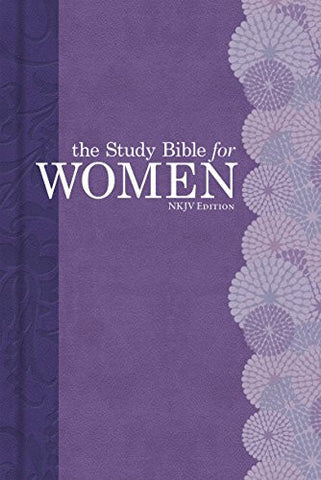 The Study Bible for Women, NKJV Personal Size Edition Hardcover Indexed