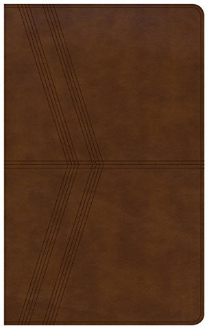 NKJV Ultrathin Reference Bible, Brown Deluxe LeatherTouch