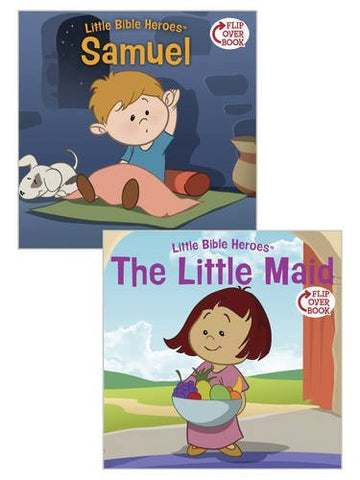 Samuel/The Little Maid Flip-Over Book (Little Bible Heroes(TM))