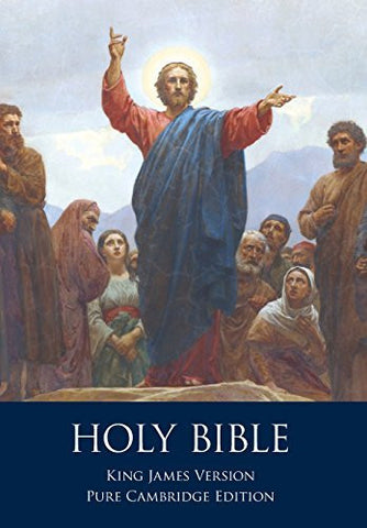 The Holy Bible: Authorized King James Version, Pure Cambridge Edition
