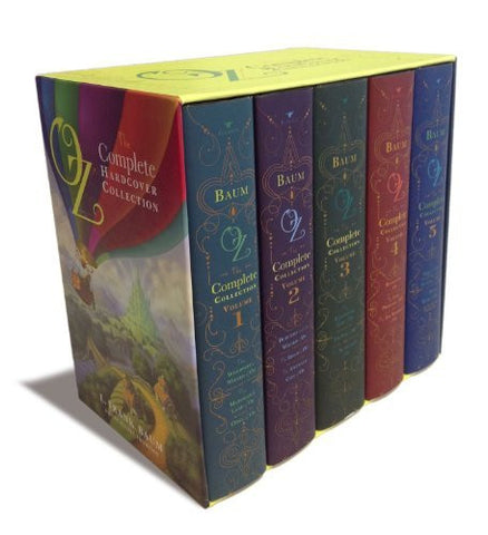 Oz, the Complete Hardcover Collection: Oz, the Complete Collection, Volume 1; Oz, the Complete Collection, Volume 2; Oz, the Complete Collection, ... 4; Oz, the Complete Collection, Volume 5