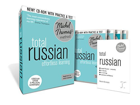 Total Russian: Revised (Learn Russian with the Michel Thomas Method) (A  Hodder Education Publication)