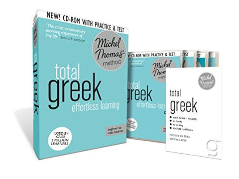Total Greek: Revised (Learn Greek with the Michel Thomas Method) (A  Hodder Education Publication)