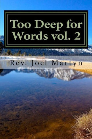 Too Deep for Words: A Daily Devotional