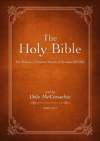 The Holy Bible: The Holman Christian Standard Bible (HCSB)(Part 1 of 2 part - Library Edition)