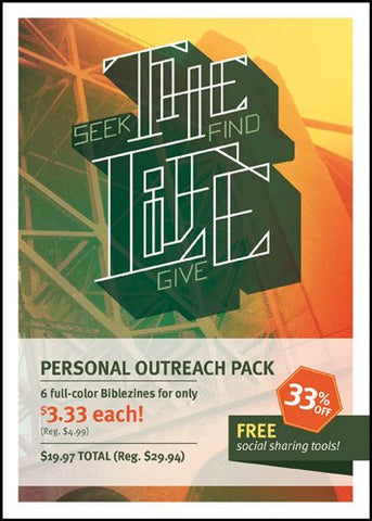 The Life Personal Outreach 6-pack: An Outreach Biblezine