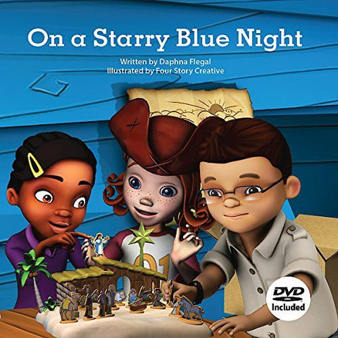 On a Starry Blue Night, Hardcover Book with DVD