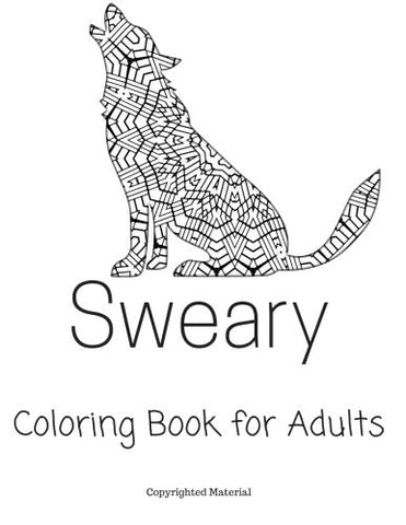 Sweary coloring book for adults: Stress Relief Words to Color