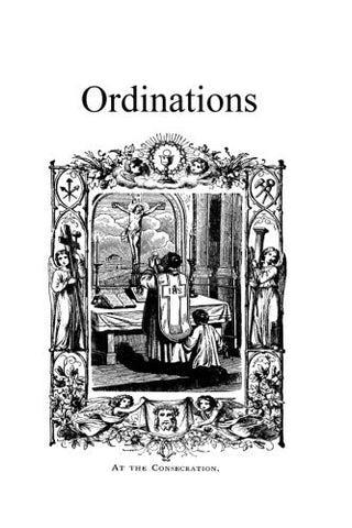 Ordinations