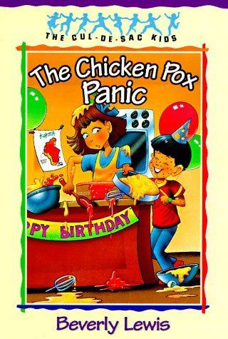 The Chicken Pox Panic (The Cul-de-Sac Kids #2) (Book 2)