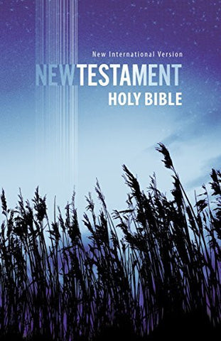 NIV, New Testament, Paperback, Blue