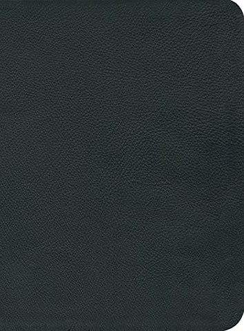 Reformation Study Bible (2016) NKJV, Black Premium Leather
