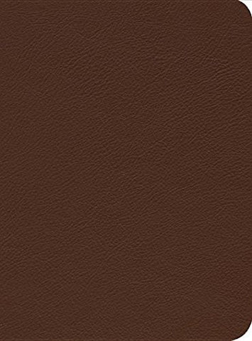 Reformation Study Bible (2015) ESV, Brown Montana Cowhide