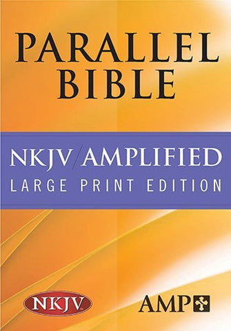 Parallel Bible-PR-Am/NKJV-Large Print