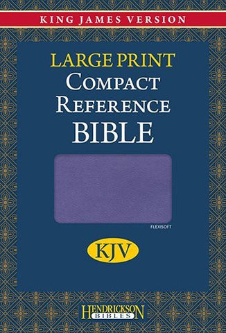 The Holy Bible: King James Version Lilac Flexisoft Reference
