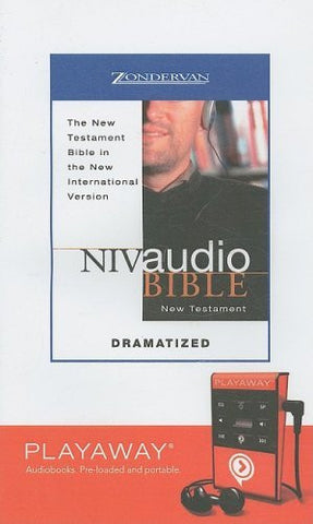 Niv Audio Bible, New Testament, Dramatized: Library Edition