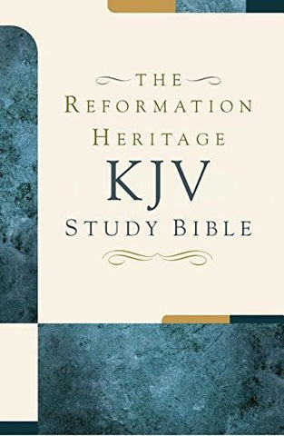 Premium Hardcover - The Reformation Heritage KJV Study Bible