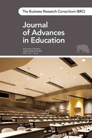 The Brc Journal of Advances in Education: Vol. 1, No. 2