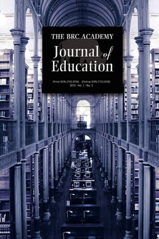 The Brc Academy Journal of Education: Vol. 1, No. 2