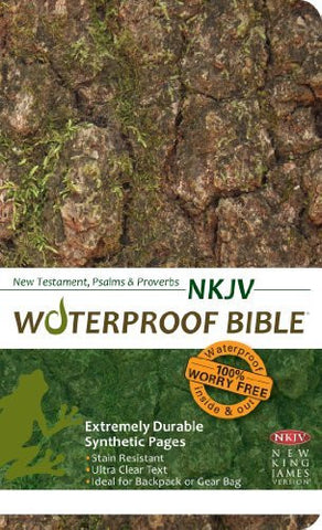 Waterproof New Testament with Psalms and Proverbs-NKJV-Camouflage