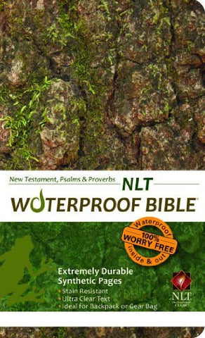Waterproof New Testament with Psalms and Proverbs-NLT-Camouflage